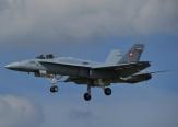 Swiss F18 Hornet